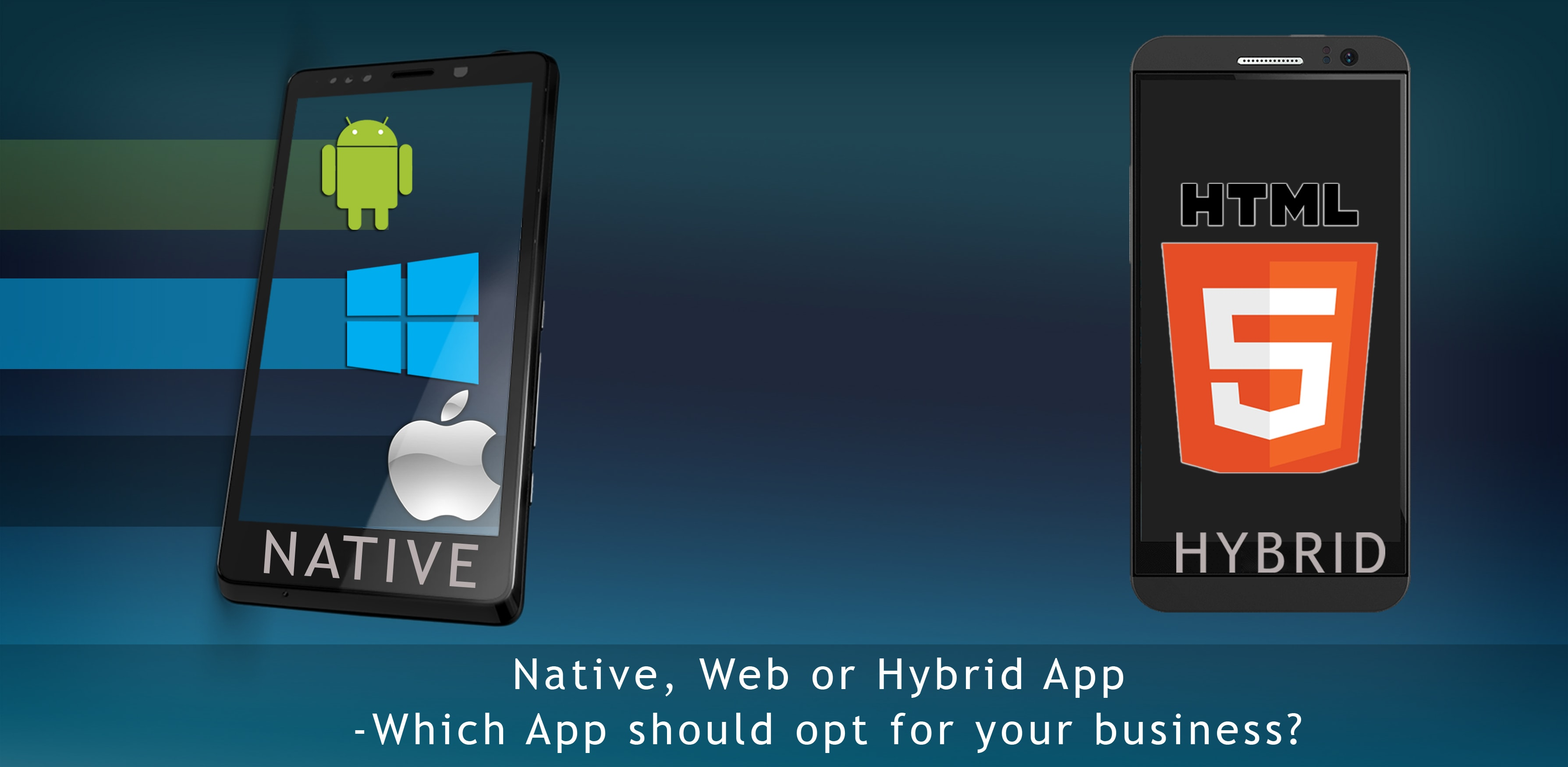 Native, Web or Hybrid App -Which App should opt for your business?