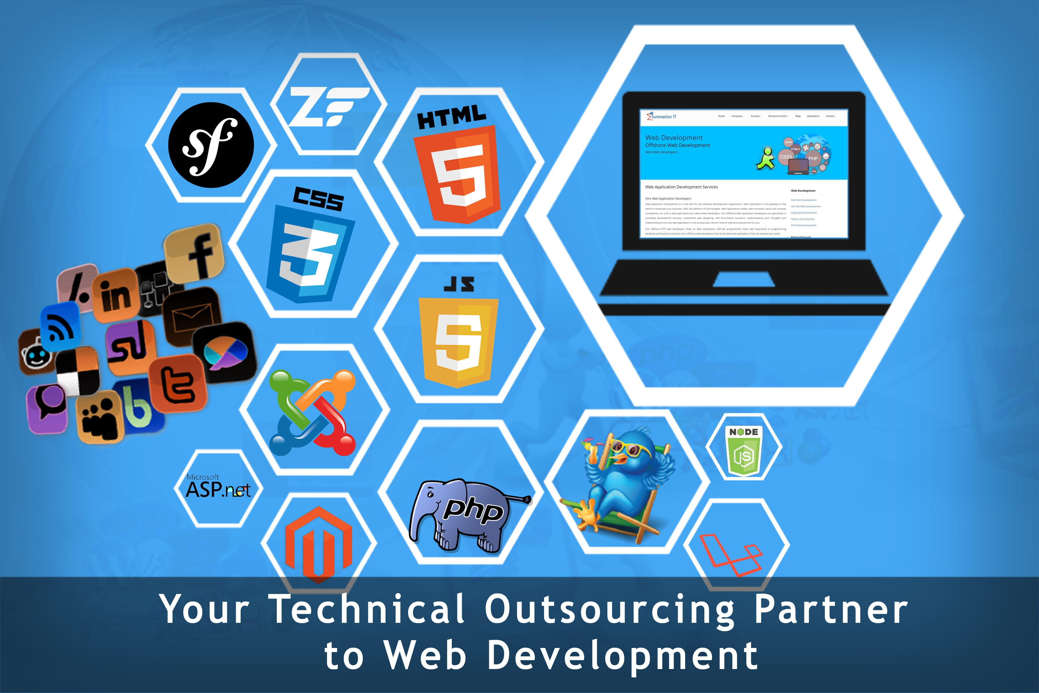 Your Technical Outsourcing Partner to Web Development
