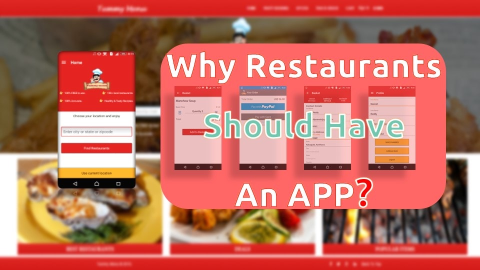 why resturants should have mobile apps from summation IT